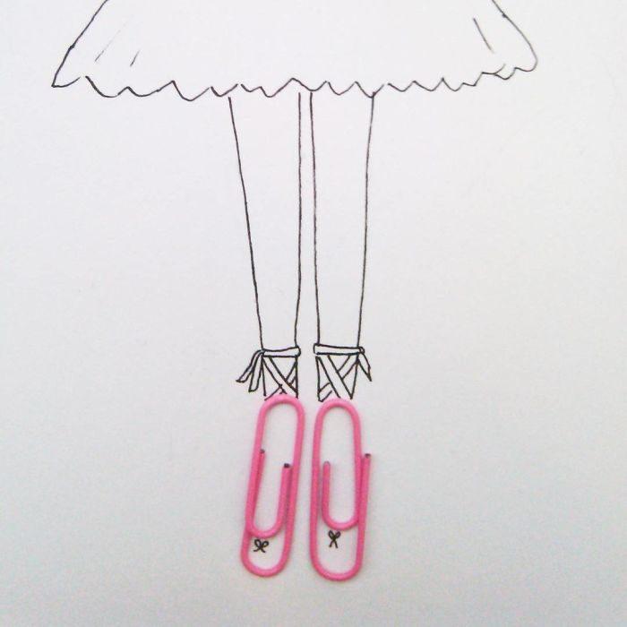 unos clips como ballerinas