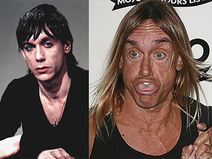 iggy pop antes y después