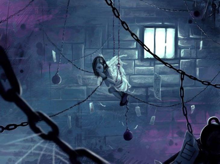 Ilustraciones Cyril Rolando - angel atrapado