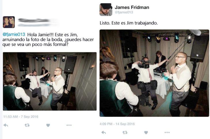 James Fridman- le piden que haga que se vea más formal