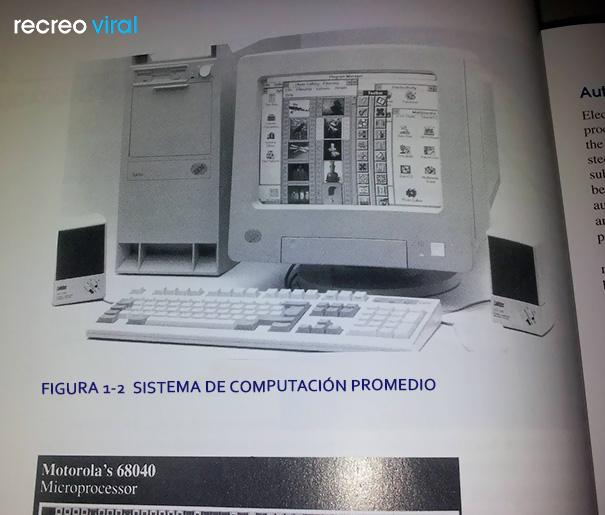 Cosas graciosas en libros de texto - libro de informática en 2014