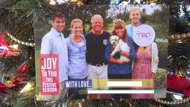Papás haciendo un buen trabajo - Tarjeta navideña