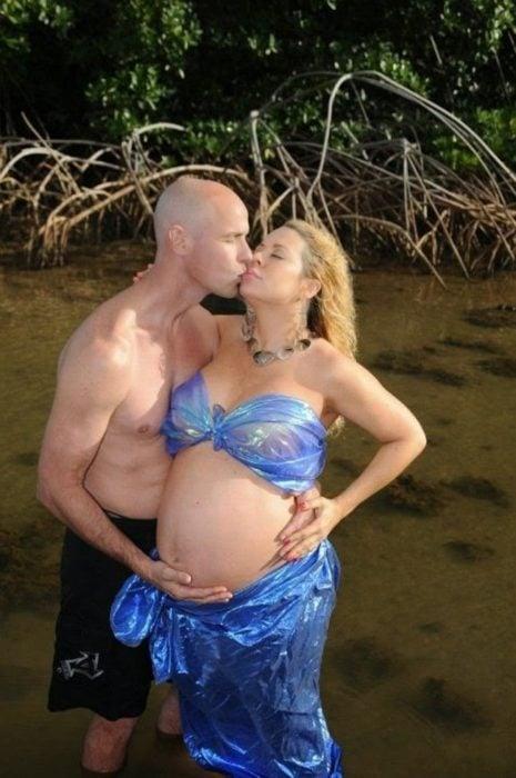 """Las peores fotos embarazo - Pareja posando """"sexy"""""""