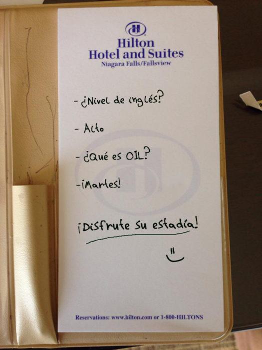 Peticiones absurdas hoteles - chiste