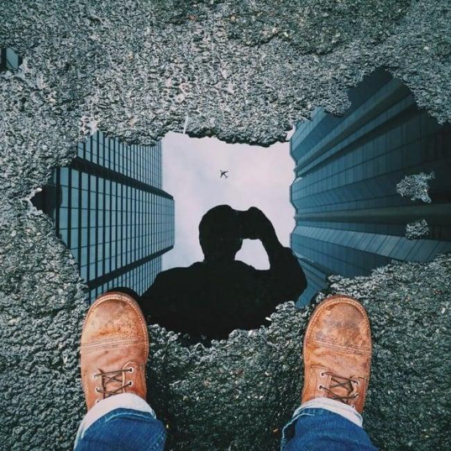 selfie en unacharco