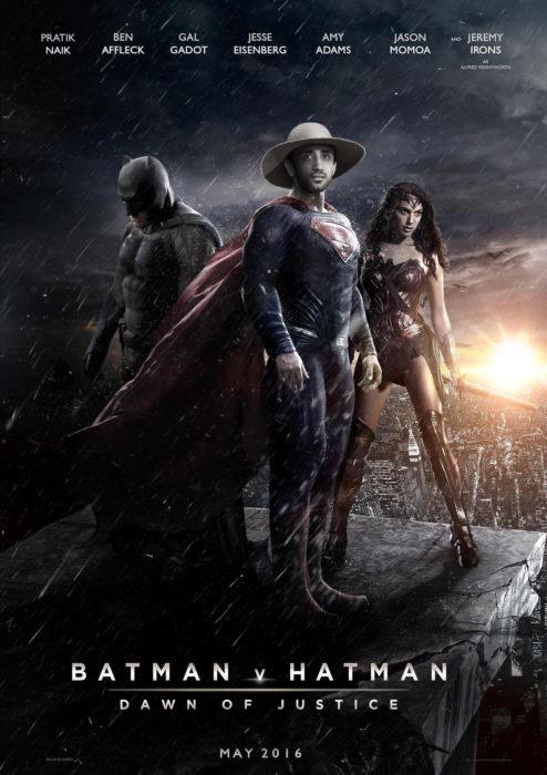 DISFRAZADO DE SUPERMAN