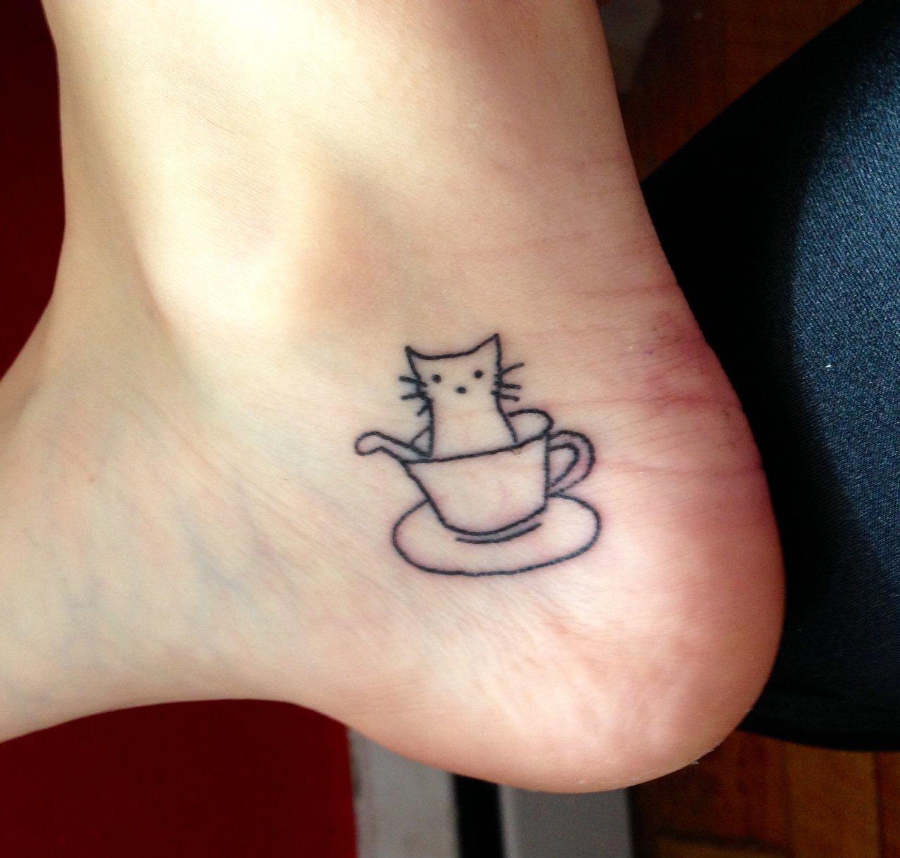 28 magn ficos tatuajes que todo amante del caf querr tener - Tatuajes de pared ...