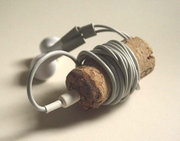 Trucos útiles - corcho audífonos
