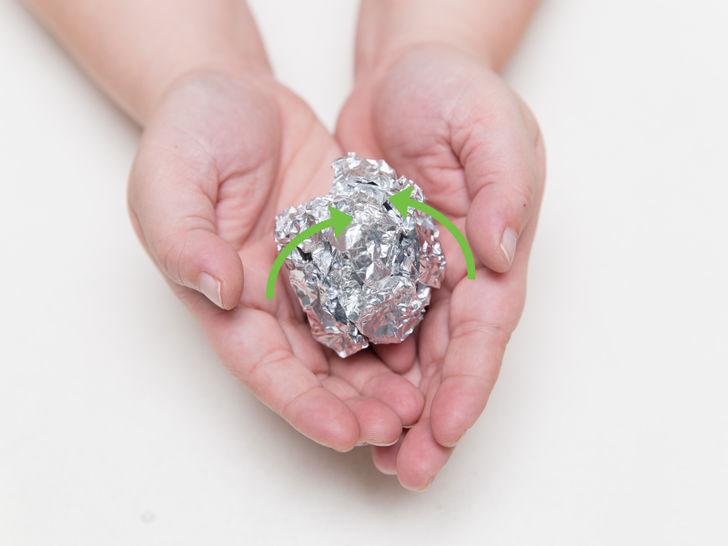 como enrollar el azúcar en aluminio