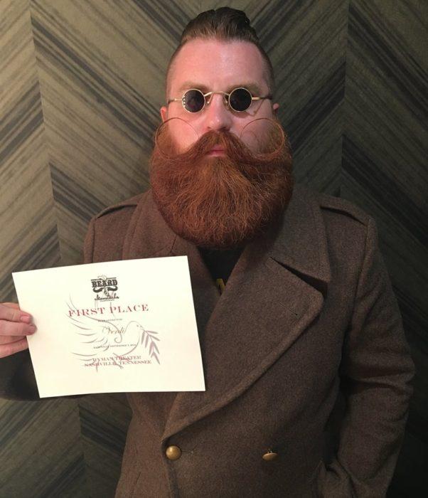 ganador del concurso de barbas