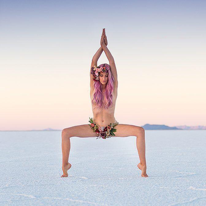 Heidi sesiòn de fotos yoga