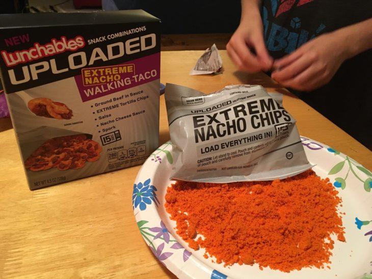 bolsa de nachos