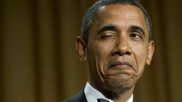 obama guiñando un ojo