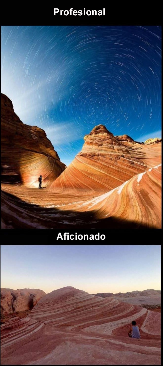 foto profesional vs amateur ariznoa