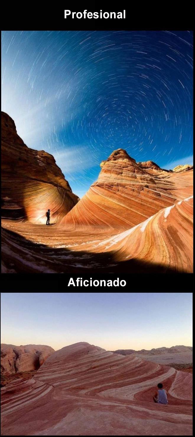 foto profesional vs amateur ariznoa