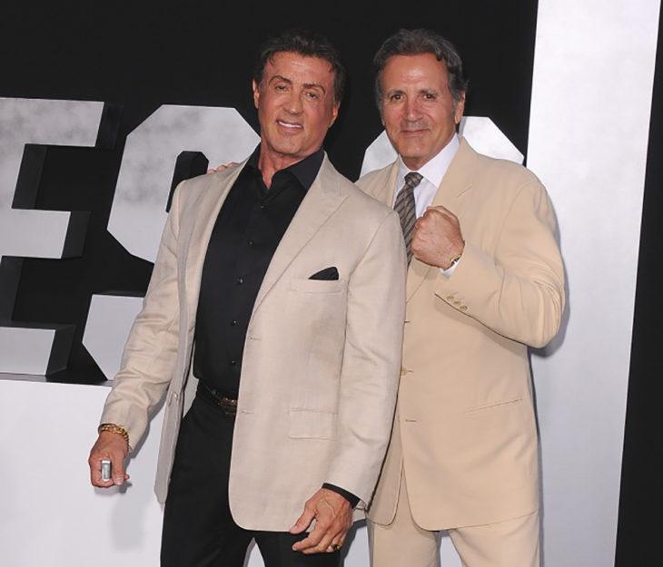 Sylvester Stallone y su hermano menor Frank