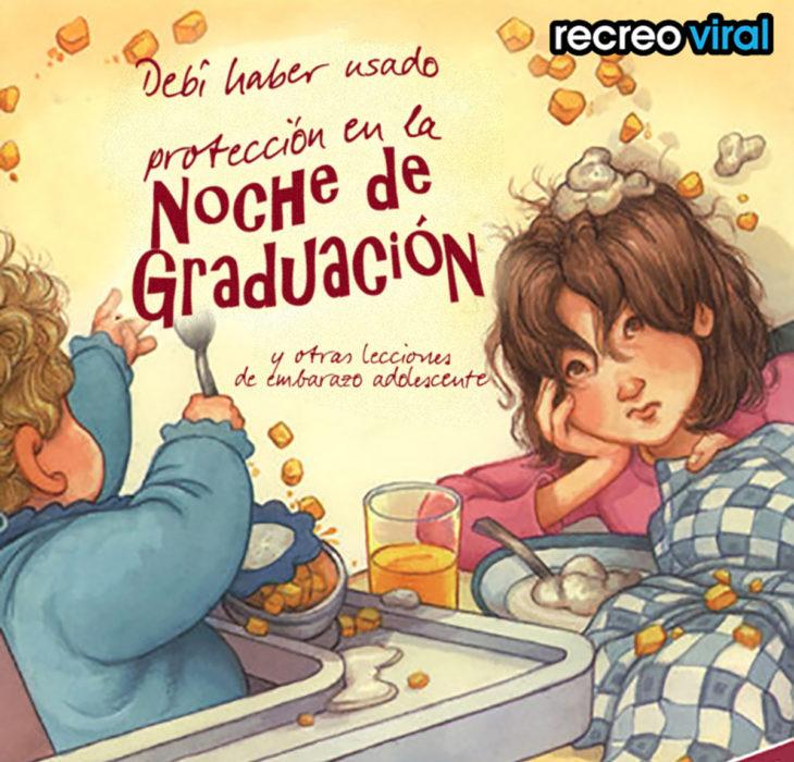 libro de niños noche de graduación