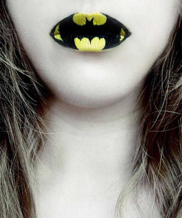 labios de batman