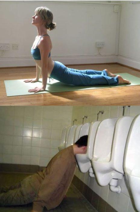 Poses yoga borrachos - De la cobra