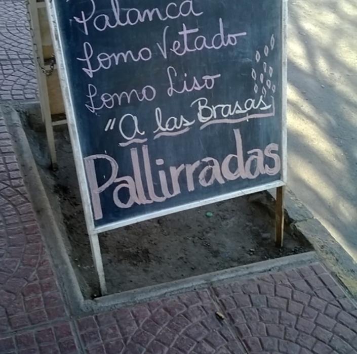 cartel con error ortográfico de dislexia