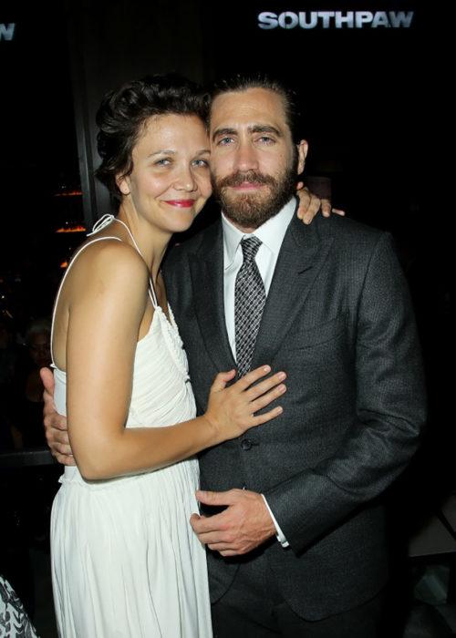 Jake Gyllenhaal y su hermana Maggie