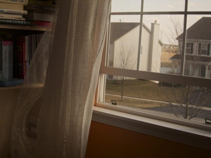 ventana abierta