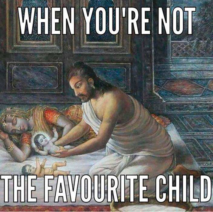 el nacimiento de krishna