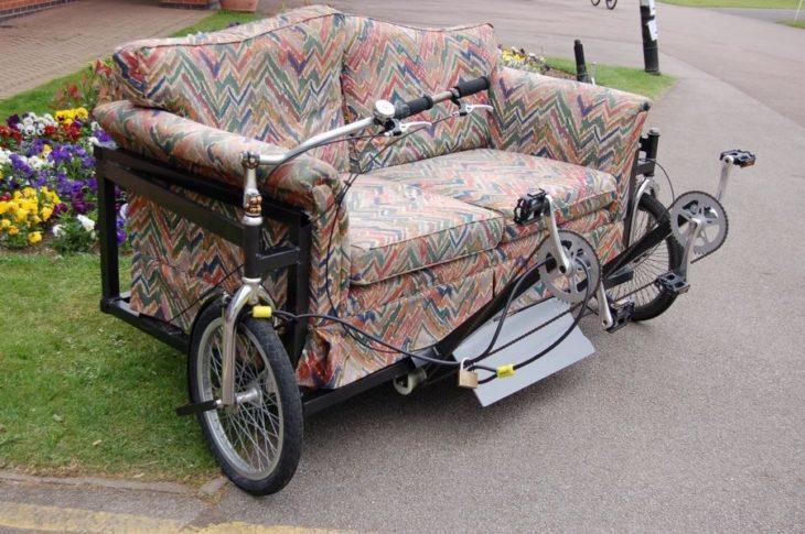 sillón-bicileta