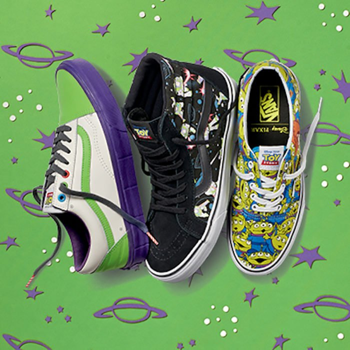 tres tenis de buzz light year