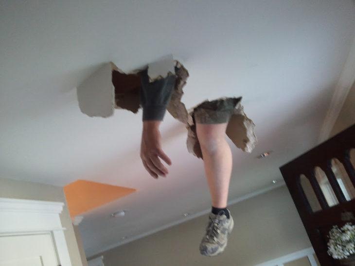 techo quebrado