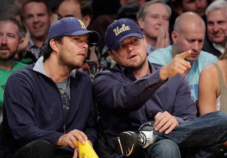 Leonardo DiCaprio y su hermano Adam Farrar
