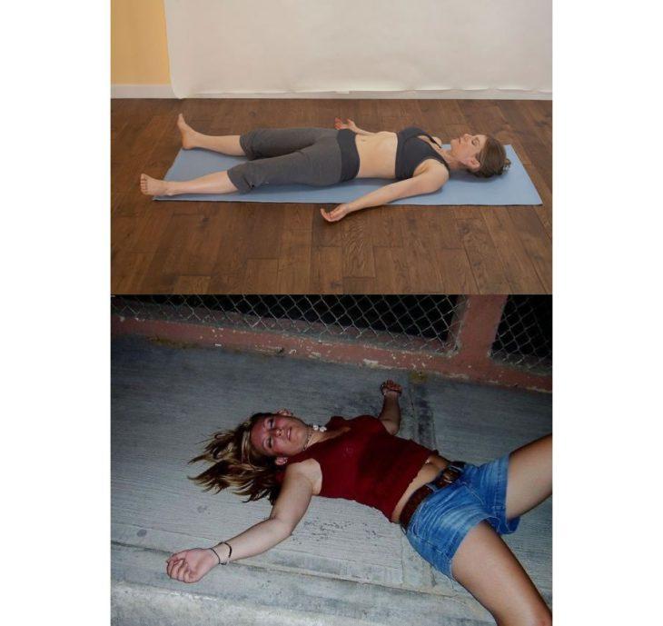 Poses yoga borrachos - El cadáver