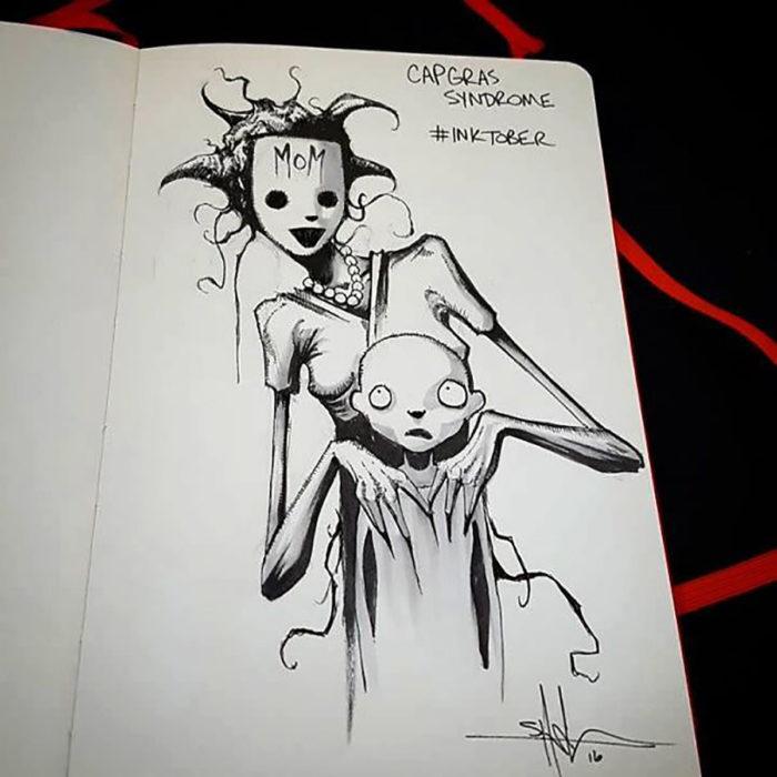 Síndrome de Capgras ilustración