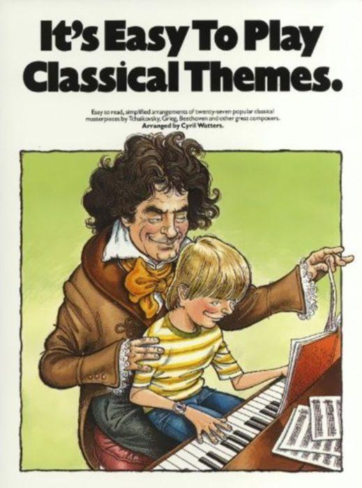 portada de cuaderno de piano para niños
