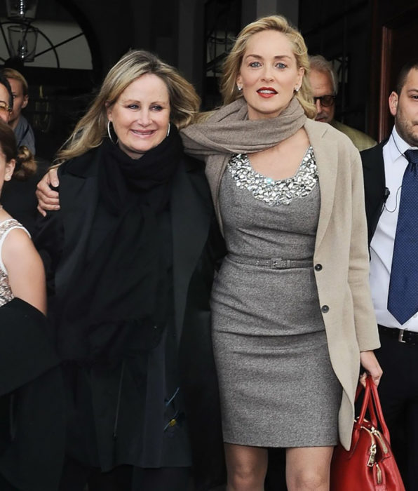 Sharon Stone y su hermana Kelly