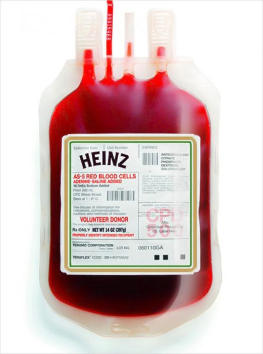 sangre heinz