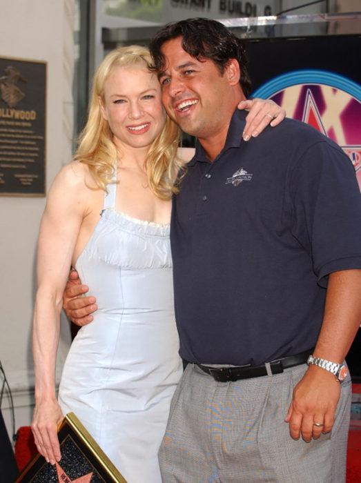 Renée Zellweger y su hermano Drew