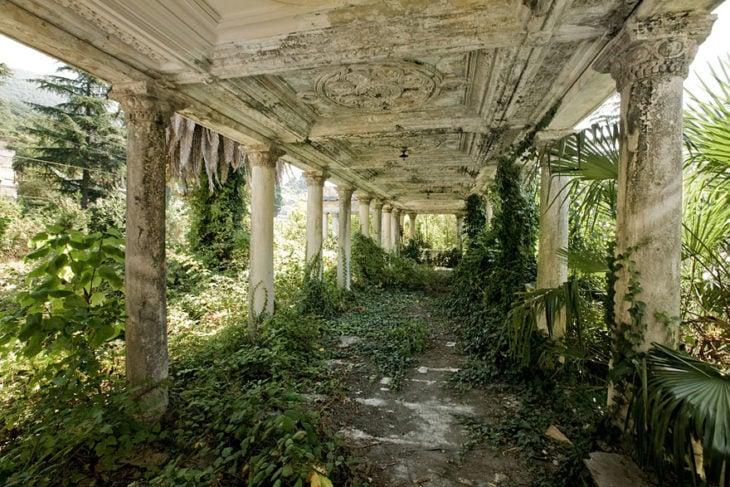 Estación del tren abandonada