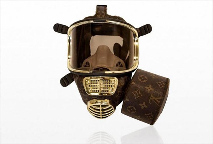 máscara de gas luis vouitton