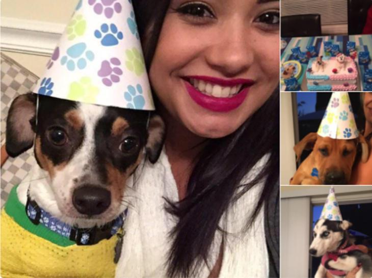 festejar el cumpleaños del perro