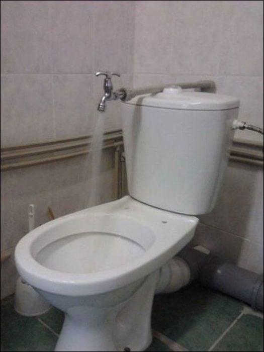baño ahorrador de agua
