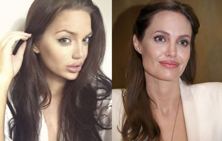angelina jolie doble