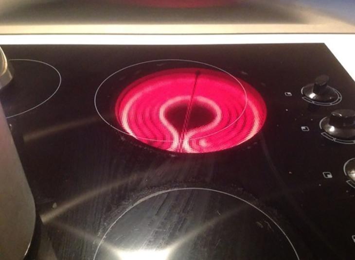 luz de mecha de estufa no coinciden