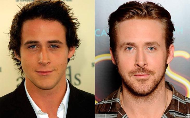 ryan gosling antes e depois