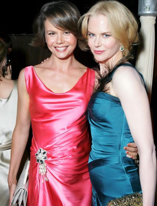 Nicole Kidman y su hermana Antonia