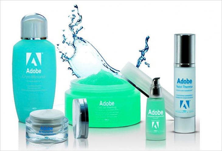 cosméticos adobe