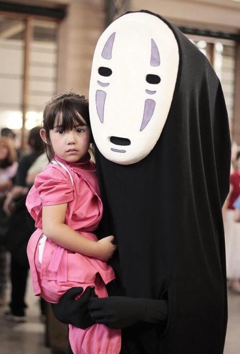 cosplay de chihiro y sin cara