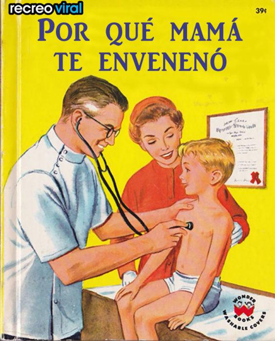 libro de por qué mamá me envenenó