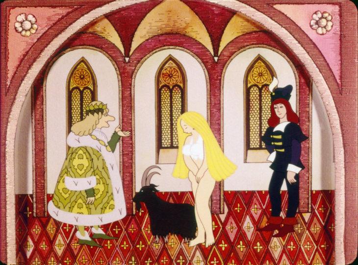ilustración inapropiada para libro de princesas