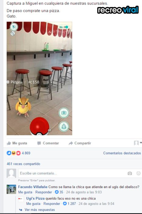 pizza ugi's pokemon go